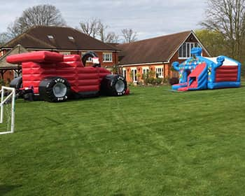 Starting a Bouncy Castle Business