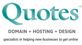 Quotes - Web Design and Web Hosting