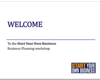 Start Your Own Business Powerpoint Presentation
