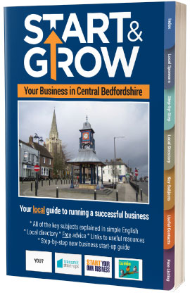 Start & Grow Your Business in Central Bedfordshire